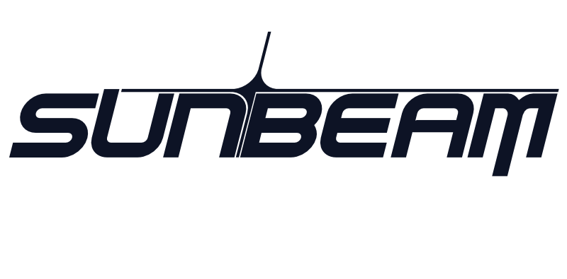 sunbeam logo blue